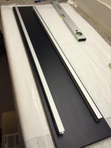Aluminium U-Profile auf Kühlkörper