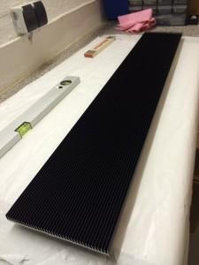 Aluminium Profil SK 421 schwarz eloxiert