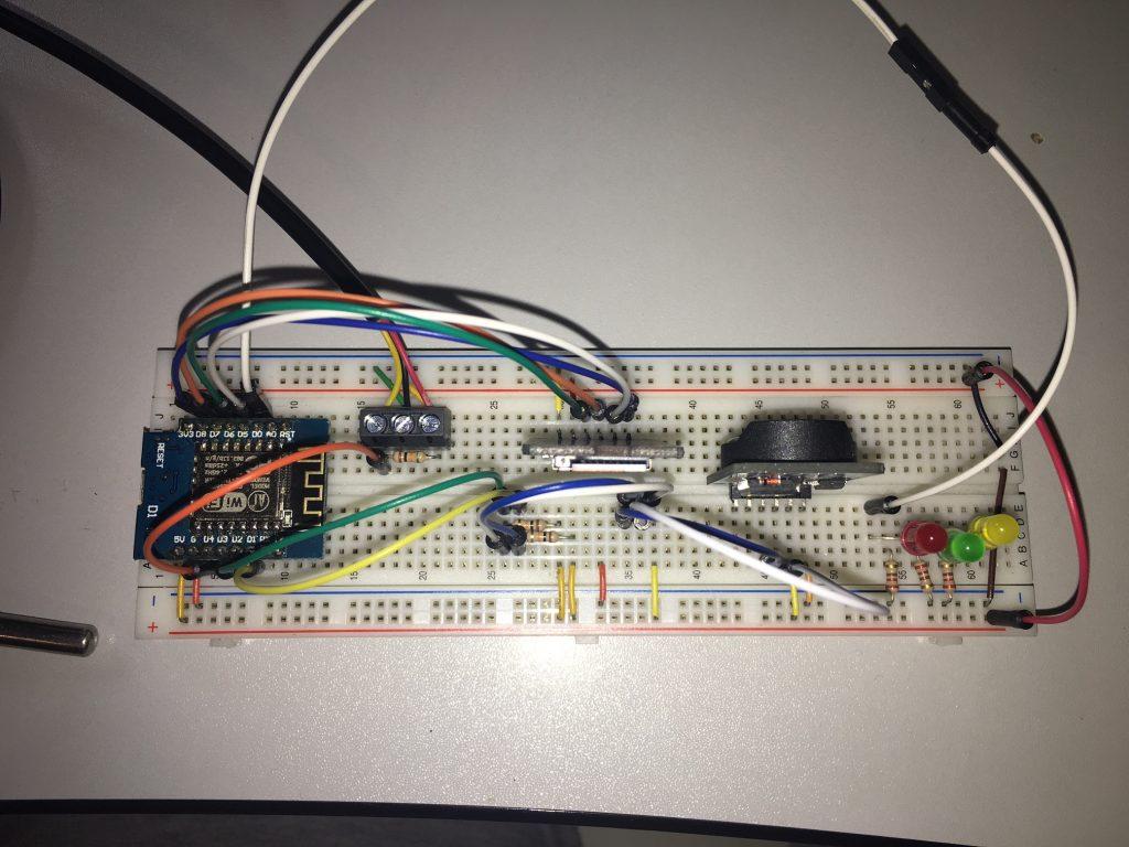 Foto des Testaufbaus Schullebernd Aqua Control v1.ohne PWM Modul
